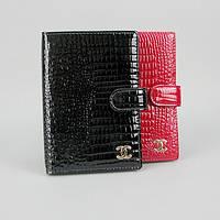 Обложка для паспорта, документов кожаная женская Chanel