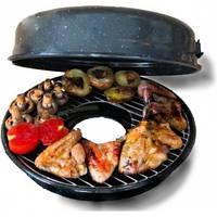 Сковорода гриль-газ, чудо-сковородка, пикник у вас на кухне, вкусная и здоровая пища, румыния