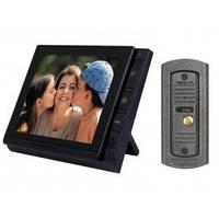 Видеодомофон Viatec V-806 + вызывная панель V-305HD