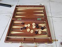 Нарды в деревянном чемоданчике (дипломат)