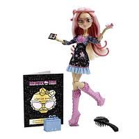 Кукла монстер хай Вайперина Горгона из серии Страх камера мотор.