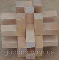 Оригинальный подарок - деревянная головоломка