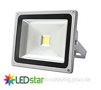 Прожектор светодиодный LED STAR, 220V, 30Вт, белый свет 4200К, IP65