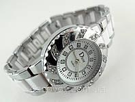 Часы женские - Dior - цвет корпуса и браслета серебристый