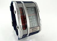 Електронные часы Alberto Kavalli цифровой стиль, стальные