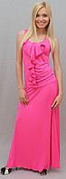 Костюм с юбкой в пол розовый, фото 1