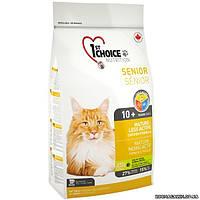1st Choice (Фест Чойс) сухой супер премиум корм для пожилых или малоактивных котов(2,72 кг)