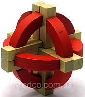 Деревянная головоломка - оригинальный, красочный подарок