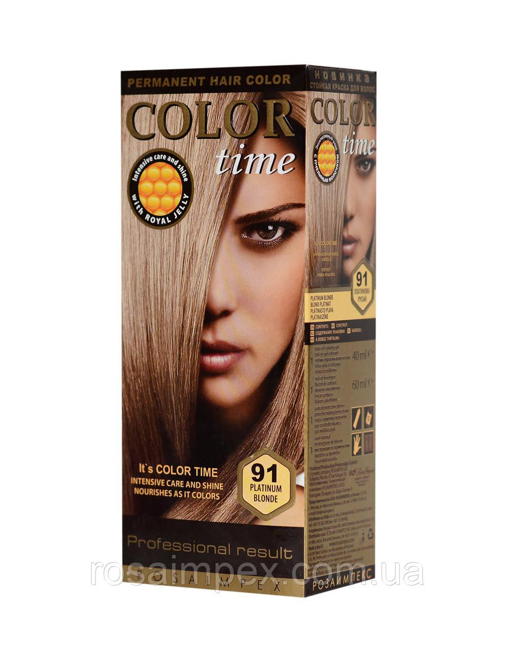Краска для волос платиновый русый