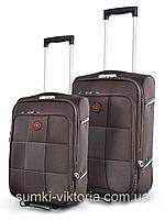Комплект чемоданов бизнес класса фирмы Mercury 2в1 на 2-х колесах