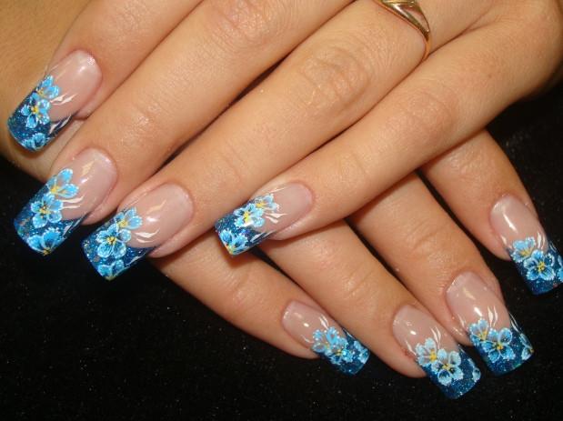 Фото нарощенных ногтей литье