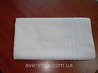 """Махровое полотенце отельный борд  100Х150 """"Египетский хлопок"""" Белое 530"""