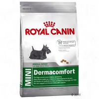 Royal Canin (Роял Канин) Mini Dermacomfort 800гр корм для взрослых собак при первых признаках аллергии