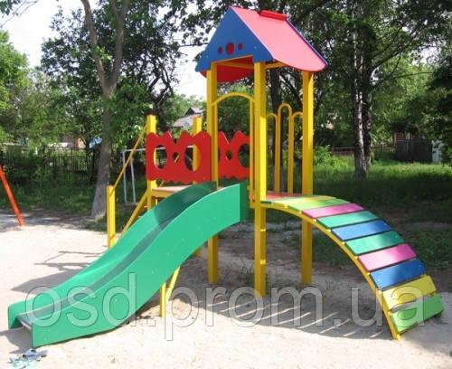 Игровой комплекс «Козацька вежа», детская площадка