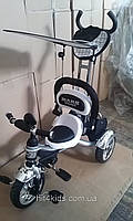 Детский велосипед Mars trike Надувные колеса Белый