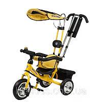 Детский Велосипед трехколесный Mini Trike (Mars), цвет - жолтый
