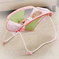 Шезлонг-качалка Bright Starts Розовые сны (60163)