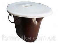 Ведро-туалет с железной ручкой 16 л