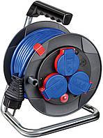 Удлинитель на катушке 15 метров; 3 розетки; AT-N05V3V3-F 3G1,5