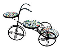 """Подставка под цветы """"Радуга"""" велосипед"""