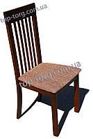 Стул деревянный 314-2 темный орех с мягким сиденьем
