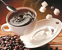 Картина на стекле Чашечка кофе 40*50 см