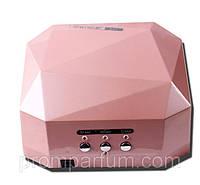 УФ лампа для наращивания ногтей Ромб 12W LED UV lamp Diamond ROM /696