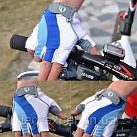Прочные велосипедные перчатки с фрикционными накладками (велоперчатки)