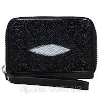 Кошелек для кредиток из кожи ската / Genuine stingray leather card holder