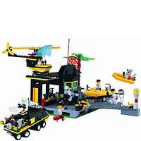 Детский конструктор Brick Спасательная база 111
