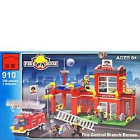 Конструктор BRICK 910 Пожарная тревога, 380 дет