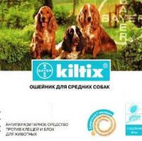 Килтикс Bayer (Германия) 35 см ошейник для собак против блох и клещей