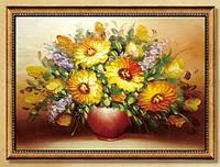 """Набор для вышивки """"Солнечные Цветы"""" 3Д"""