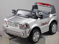 Детский Электромобиль Bambi Двухместный Джип Land Rover 205 серебро автопокраска на радиоуправлении