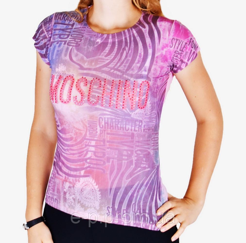 Женская футболка сетка (арт. WF5001)