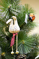 Скоро Новый Год! Кофейный Зайка на елку. Украсьте елку вместе с нами. Выставка-продажа с Студии куклы.