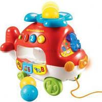 Обучающая игрушка вертолет-каталка VTech