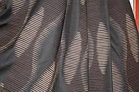 Штора  Платин  волна  коричневая