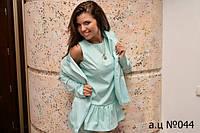 Женский комбинезон с пиджаком ца044, фото 1
