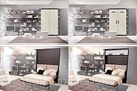 Кровать шкаф трансформер двуспальная
