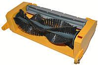Блок нижних щеток (ворсистая и силиконовая) вместе с приводом для китайских роботов пылесосов