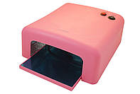Уф лампа 818 (Ультрафиолетовая лампа) 36 W (розовая)