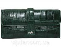 Женский кошелек из кожи крокодила