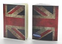 Обложка для документов паспорта Великобритания винил