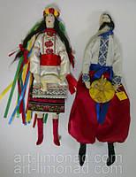 Куклы Тильды в национальной украинской одежде