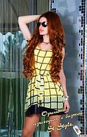 Шифоновое платье кр5804, фото 1