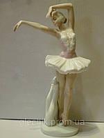 """""""Балерина"""" фарфоровая статуэтка фигурка итальянской компании Pavone  JP-27/ 2 , 22 сантиметра высота"""