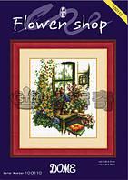 Набор для вышивания крестиком Цветочный магазин