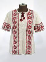 Вишиванка жіноча з коротким рукавом Соняшники / Вышиванка женская с коротким рукавом 0524 Подсолнухи