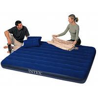 Надувная кровать на 3-4 человека